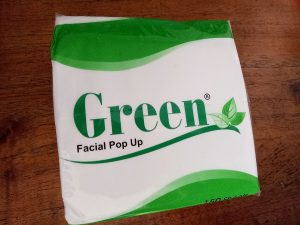 Tissue Facial Pop Up