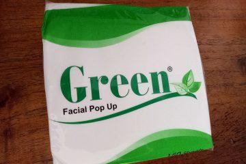 Tissue Facial Pop Up